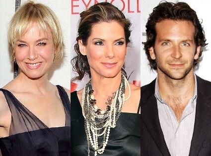 Bradley Cooper, Renee Zellweger, Sandra Bullock