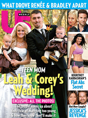 US Weekly Cover, Teen Mom Wedding