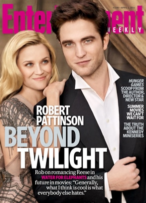 Reese Witherspoon, Robert Pattinson, Entertainment Weekly Cover