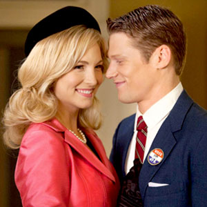 Candice Accola, Zach Roerig, Vampire Diaries