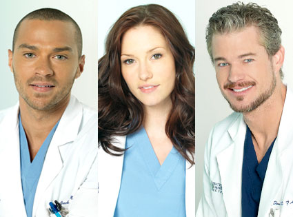 Jesse Williams, Chyler Leigh, Eric Dane