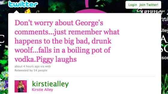 Kirstie Alley Twitter