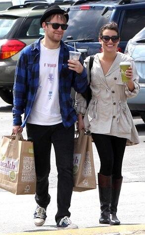 Lea Michele, Theo Stockman