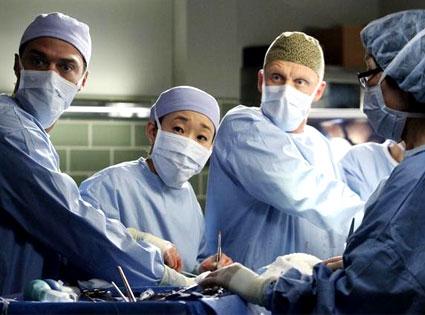 Grey's Anatomy: Jesse Williams, Sandra Oh, Kevin McKidd