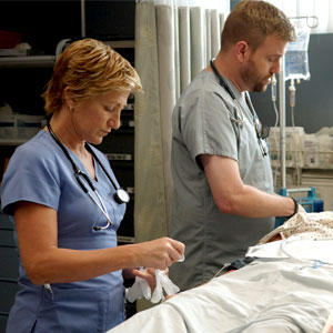 Edie Falco, Stephen Wallem, Nurse Jackie