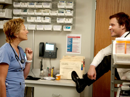 Edie Falco, Peter Facinelli, Nurse Jackie