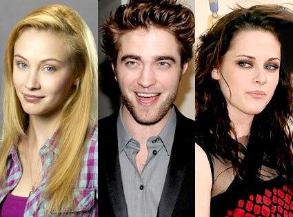 Sarah Gadon, Robert Pattinson, Kristen Stewart