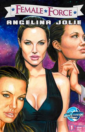 Angelina Jolie, Female Force Comic Book