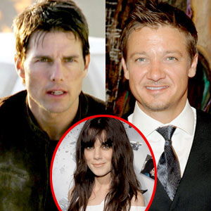 Tom Cruise, Jeremy Renner, Michelle Monaghan