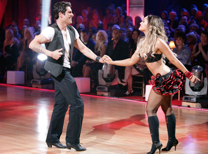 DWTS, DANCING WITH THE STARS, MIKE CATHERWOOD, LACEY SCHWIMMER