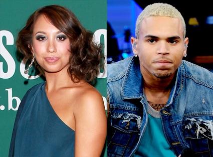 Cheryl Burke, Chris Brown