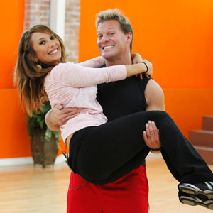 DANCING WITH THE STARS, DWTS, CHRIS JERICHO, CHERYL BURKE