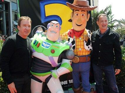 Tim Allen, Tom Hanks