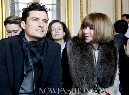 Orlando Bloom, Anna Wintour