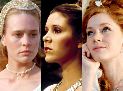 Robin Wright Penn, The Princess Bride, Carrie Fisher, Star Wars, Amy Adams, Enchanted