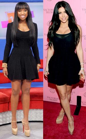 Jennifer Hudson, Kim Kardashian