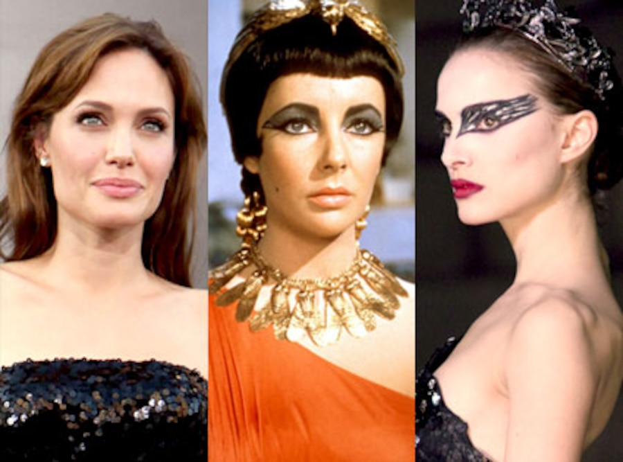 Angelina Jolie, Elizabeth Taylor, Cleopatra, Natalie Portman, Black Swan