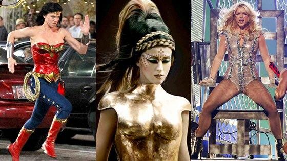 Adrianne Palicki, Katy Perry, E.T. Video, Britney Spears