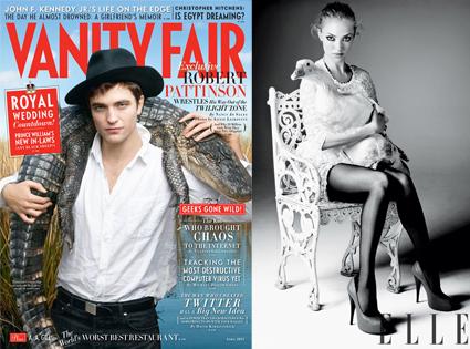 Robert Pattinson, Vanity Fair, Amanda Seyfried, Elle