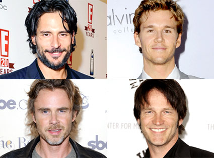 Joe Manganiello, Ryan Kwanten, Sam Trammell, Stephen Moyer