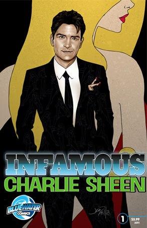 Charlie Sheen, Comic