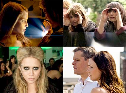 I Am Number Four, Carey Mulligan, Keira Knightley, Never Let Me Go, Mary-Kate Olsen, Beastly, Matt Damon, Emily Blunt, The Adjustment Bureau