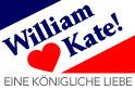 William Hearts Kate! Royal Romance: German Edition