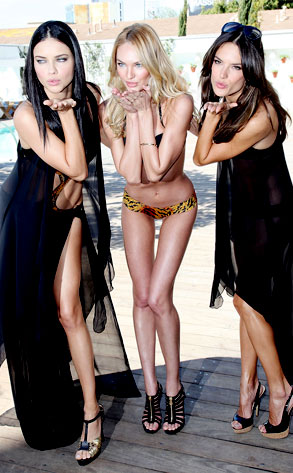 Adriana Lima, Candice Swanepoel, Alessandra Ambrosio