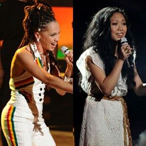 American Idol, Naima Adedapo, Thia Megia