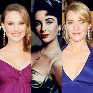 Natalie Portman, Elizabeth Taylor, Kate Winslet