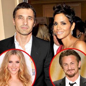 Halle Berry, Oliver Martinez, Scarlett Johansson, Sean Penn