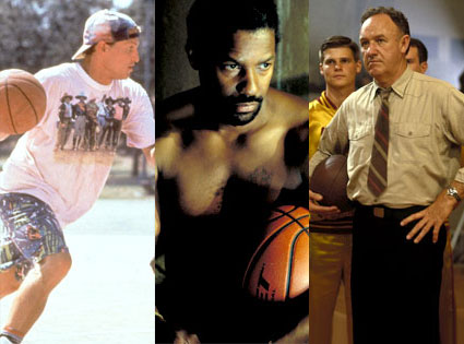 White Men Can't Jump, He Got Game, Hoosiers