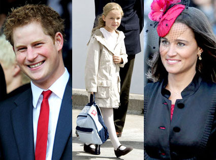 Prince Harry, Margarita Armstrong-Jones, Philippa Middleton