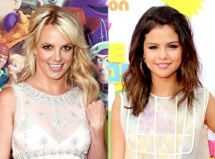 Britney Spears, Selena Gomez