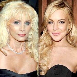 Victoria Gotti, Lindsay Lohan