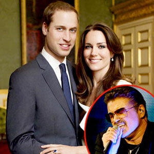 Prince William, Kate Middleton, George Michael