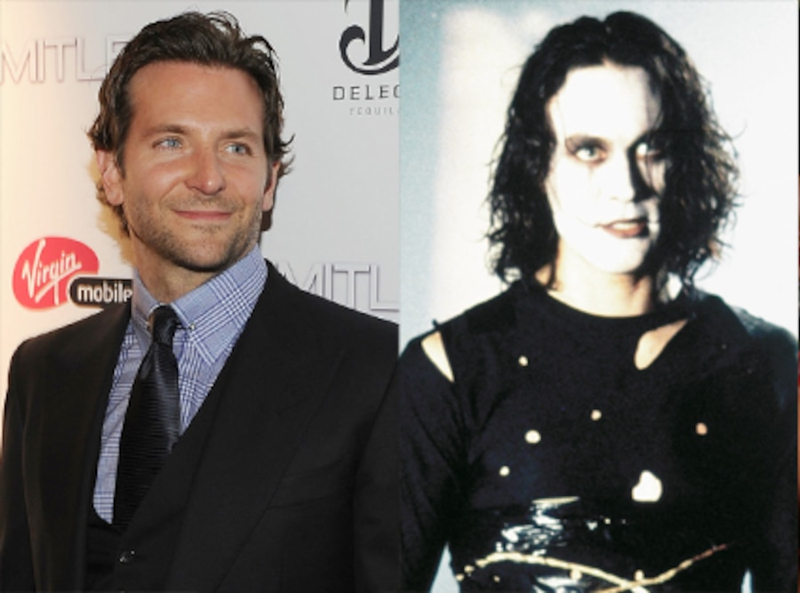 Brandon Lee, The Crow, Bradley Cooper