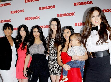 Kris Jenner, Kendall Jenner, Kim Kardashian, Kylie Jenner, Kourtney Kardashian, Mason Dash Disick, Khloe Kardashian Odom