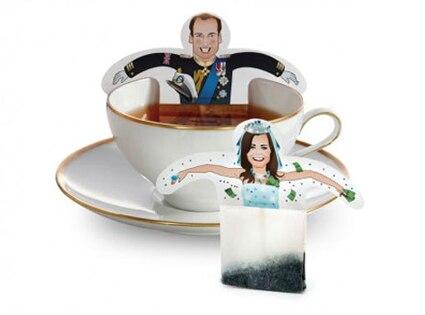 Prince William, Kate Middleton, Tea Bags