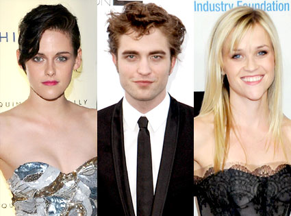 Kristen Stewart, Robert Pattinson, Reese Witherspoon