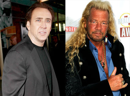 Nicolas Cage, Dog The Bounty Hunter