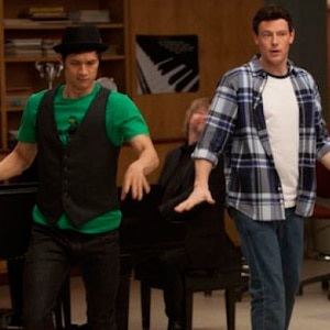 Glee, Harry Shum Jr., Cory Monteith