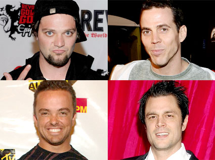 Bam Margera, Steve-O, Wee-Man, Johnny Knoxville