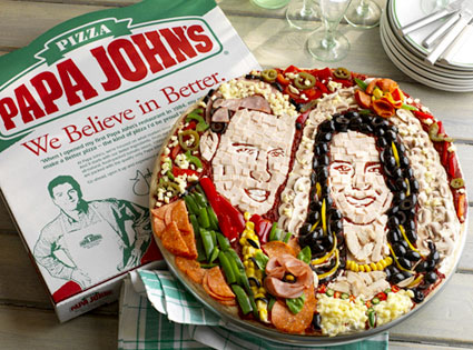 Prince William, Kate Middleton, Papa John's Pizza