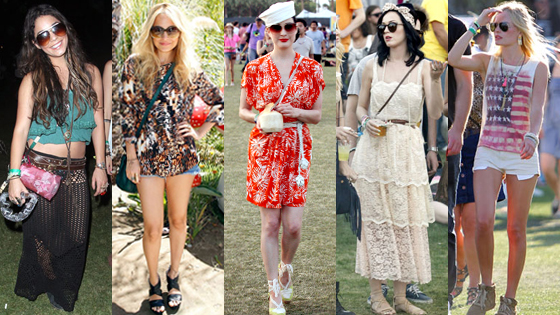 Vanessa Hudgens, Nicole Richie, Dita Von Teese, Katy Perry, Kate Bosworth
