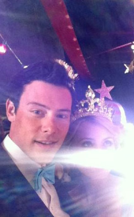 Cory Monteith, Twitter