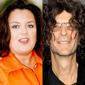 Rosie O'Donnell, Howard Stern