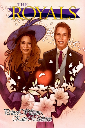 The Royals: Prince William and Kate Middleton, Comic Book