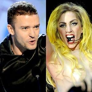 Justin Timberlake, Lady Gaga