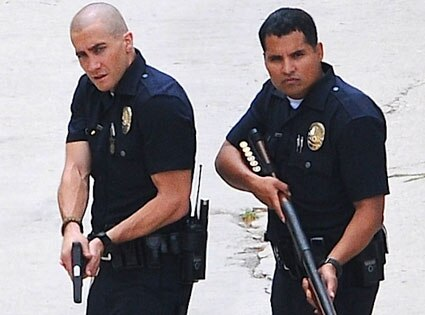 Jake Gyllenhaal, Michael Peña, End Of Watch